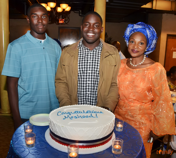 eaq 301 Graduation reception for 2nd Lieutenant Moshood Adeniji