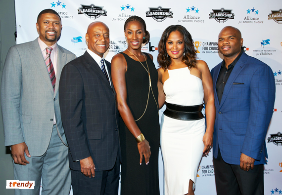 Jalen Rose Kevin Chavous Lisa Leslie Laila Ali Curtis Conway If Money Was No Factor, What Cause Would You Fight For?