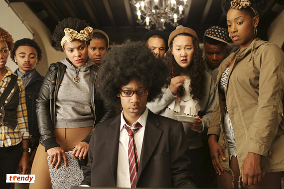 The cast of Dear White People - Photo credit Ashley Nguyen