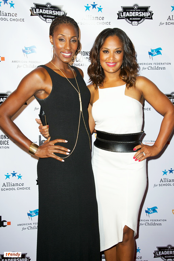 WNBA player Lisa Leslie and Laila Ali If Money Was No Factor, What Cause Would You Fight For?