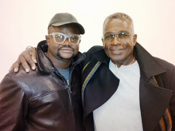 Lancelot with Rudolp Walker Lancelot Imasuen's 'invasion 1897' set for World premiere