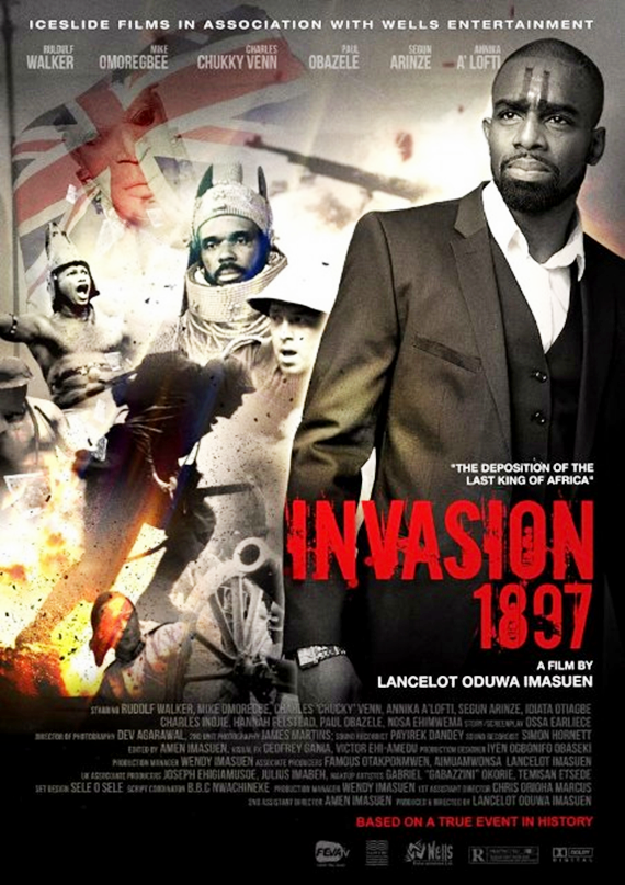 invasion official postal.jpgredcd Lancelot Imasuen's 'invasion 1897' set for World premiere