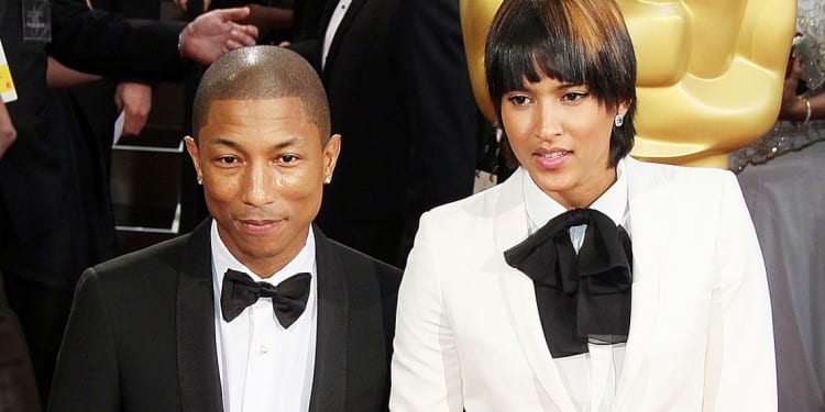 Also nominated is Musician Pharrell Williams (pictured with wife Helen Lasichanh - Copy