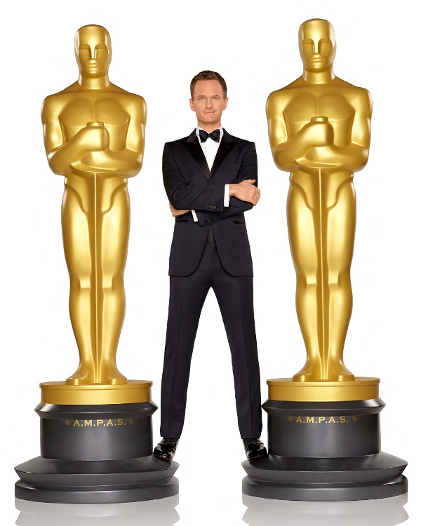 Oscar host Neil Patrick Harris - photo by Bob D'Amico - Copy