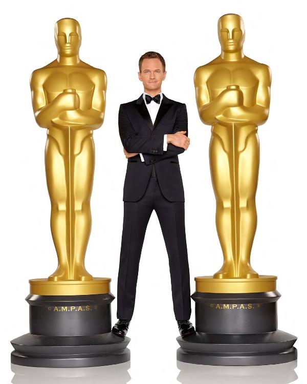 Oscar host Neil Patrick Harris - photo by Bob D'Amico - Copy