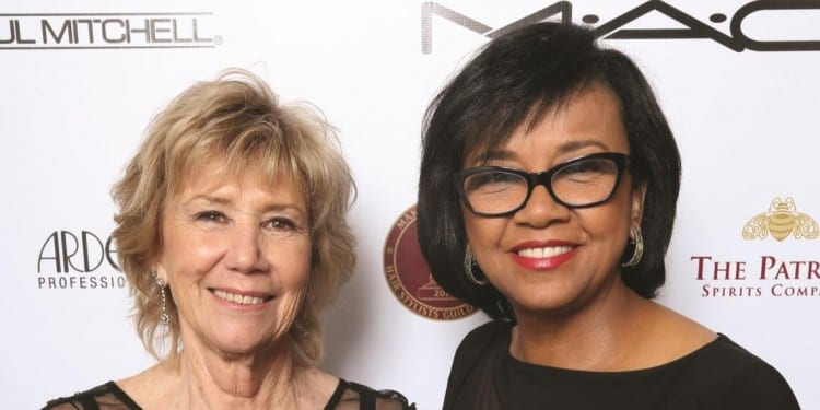 Kathryn Blondell  and Cheryl Boone Isaacs - Copy