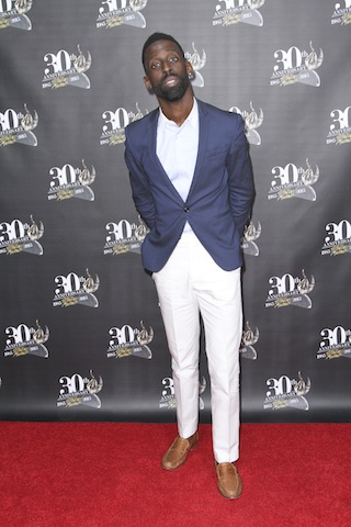 Ty Tribbett on the red carpet