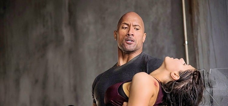 Dwayne Johnson plays he hero in the thriller action San Andreas - photo by Jasin Boland - Copy