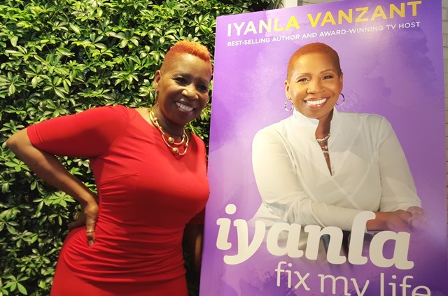 Iyanla Vanzant - best selling author and tv host