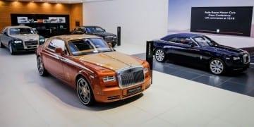 Rolls-Royce Motor Cars at the Dubai International Motor Show - Copy
