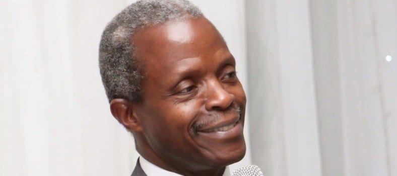 Prof. Yemi Osinbajo, GCON, Vice President of the Federal Republic of Nigeria