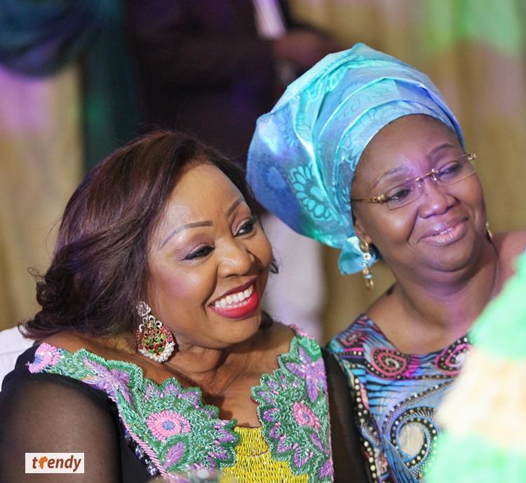 Senator Florence Ita-Giwa and Dame Abimbola Fashola