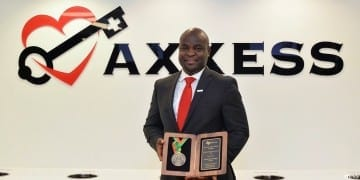 Mr. John Olajide; CEO and founder, AXXESS