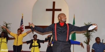 Segun Obe performs at Judah Night. Photo by Tosan Aduayi