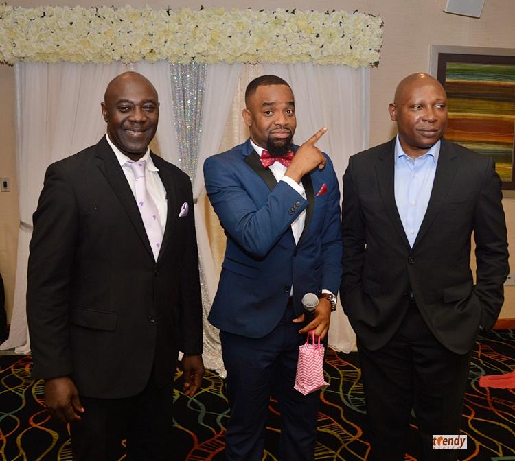 L-R; Tosan Aduayi, McPc, Mr. Olojede
