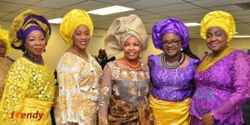 Council Woman Belema Ipaye (middle)