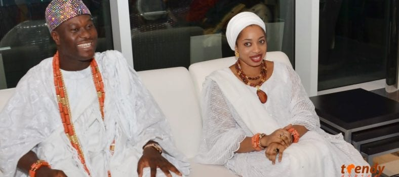 His Imperial Majesty, Oba, Dr. Adeyeye Enitan Ogunwusi, Ojaja II, Ooni of Ife and Queen Wuraola