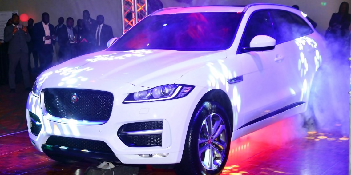 All New Jaguar FPace Sets The Pace In Lagos Nigeria Trendy Africa - All jaguar