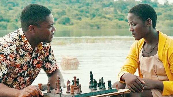 David Oyelowo and Phiona Mutesi