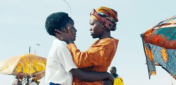 Lupita Nyong'o and Phiona Mutesi