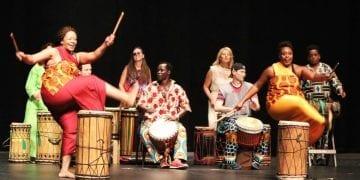 Mandinka Drummers. Photo credit: Krys Changlee