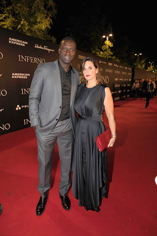 Florence, Italy –October 8, 2016 Omar Sy at Columbia Pictures INFERNO World Premiere Red Carpet - Opera di Firenze. Florence, Italy