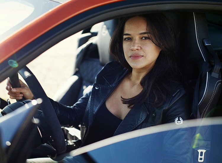 Hollywood actress Michelle Rodriguez