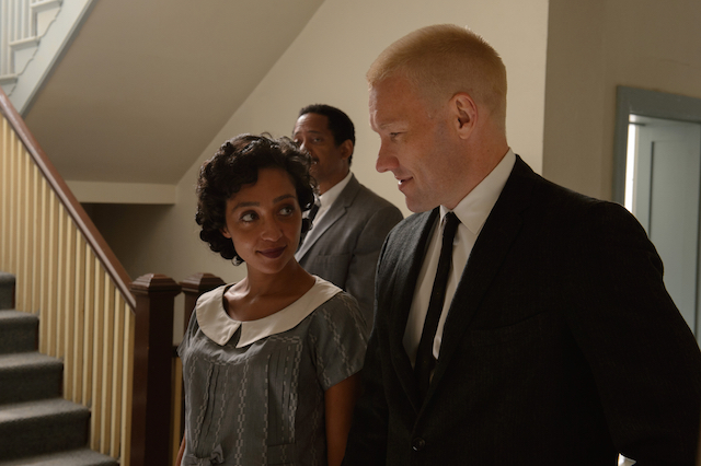 Ruth Negga (left) and Joel Edgerton (right)