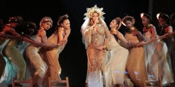 LOS ANGELES, CA - February 12, 2017 Beyoncé performed LOVE DROUGHT at the 59th Annual GRAMMY Awards at STAPLES Center in Los Angeles, CA. Sunday, February 12, 2017. (Robert Gauthier / Los Angeles Times)