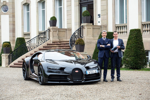 Bugatti and Champagne Carbon