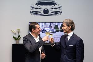 Bugatti and Champagne