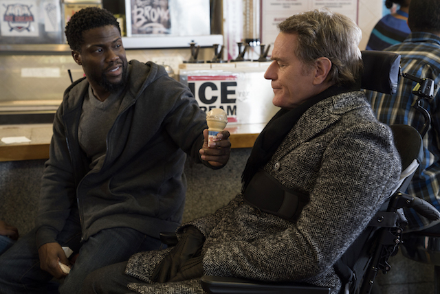 Kevin Hart and Bryan Cranston star in THE UPSIDE
