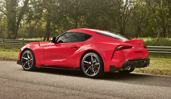 All new 2020 Toyota Supra