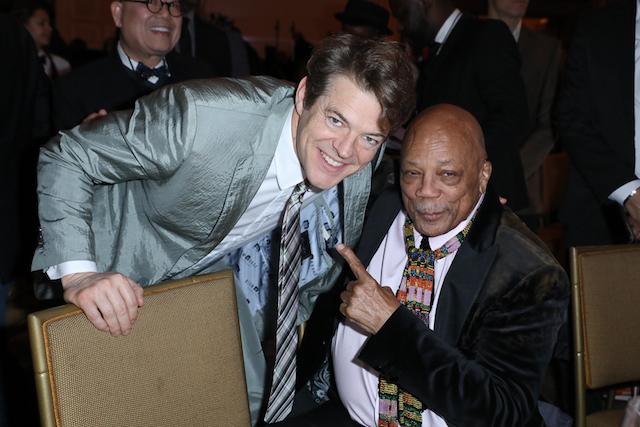 AAFCA Award honorees Jason Blum and Quincy Jones