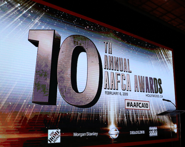 AAFCA Awards stage