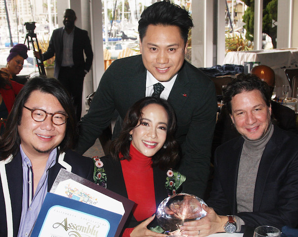 Movie Crazy Rich Asians honored by AAFCA
