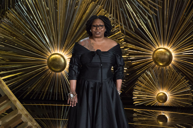 Presenter Whoopi Goldberg