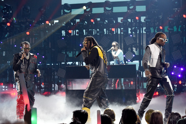 Migos performs onstage at Nickelodeon's 2019 Kids' Choice Awards