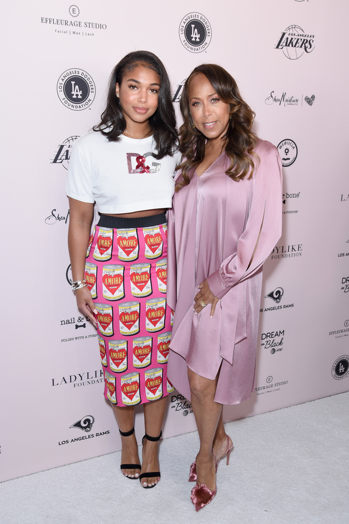 Lori Harvey (L) and Marjorie Elaine Harvey