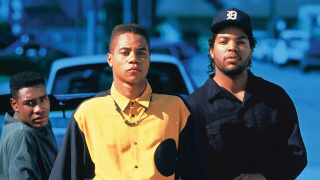 Morris Chestnut, Cuba Gooding Jr and Ice Cube
