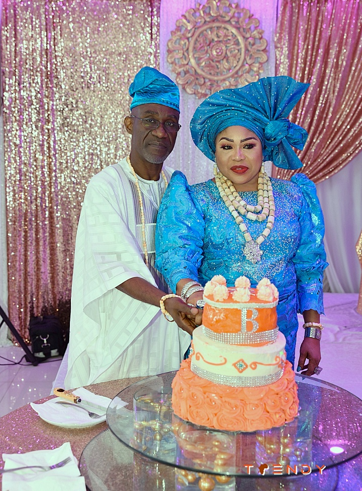 Sir Gregory and Mrs. Bibi Balogun