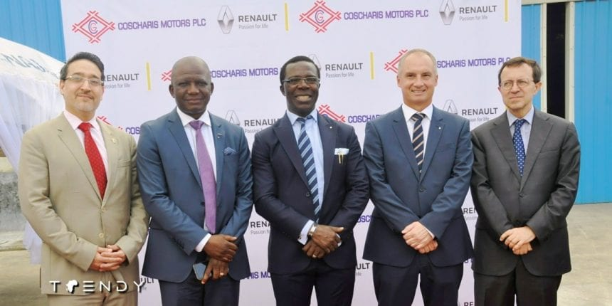 Coscharis and Renault auto assembly partnership