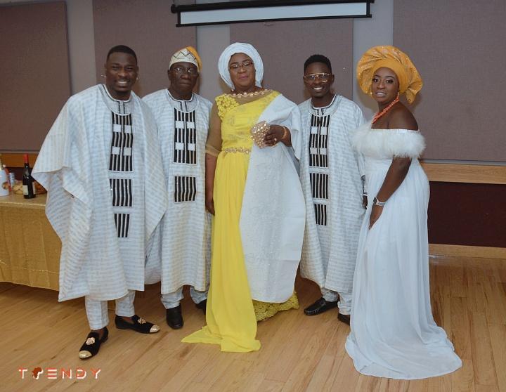 Funmi Adeyemo and family