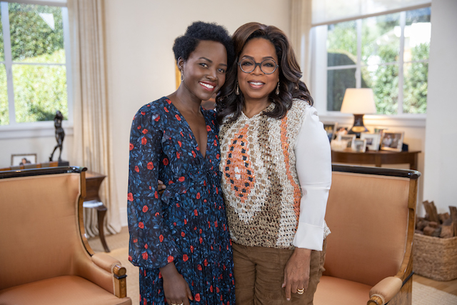 Lupita Nyong'o talks with Oprah