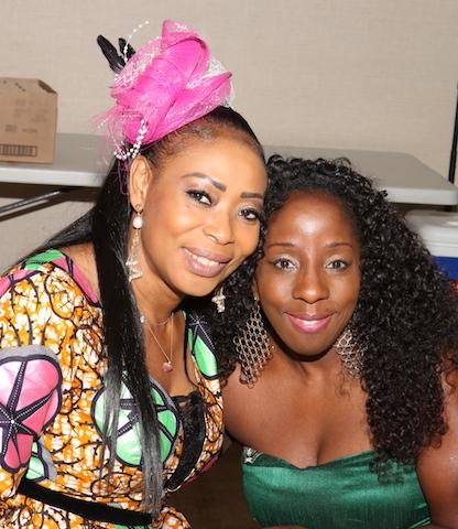 Monalisa Okojie and Samantha Ofole-Prince