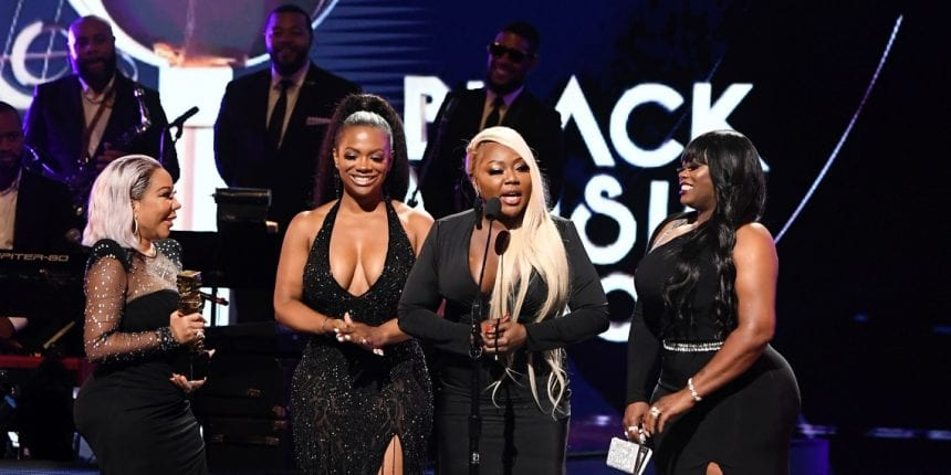 Xscape on stage at the Urban Music Icon Award