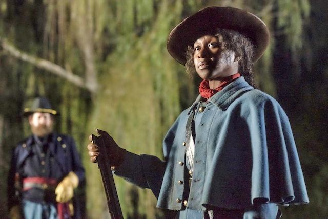 Cynthia Erivo stars as Harriet Tubman in HARRIET