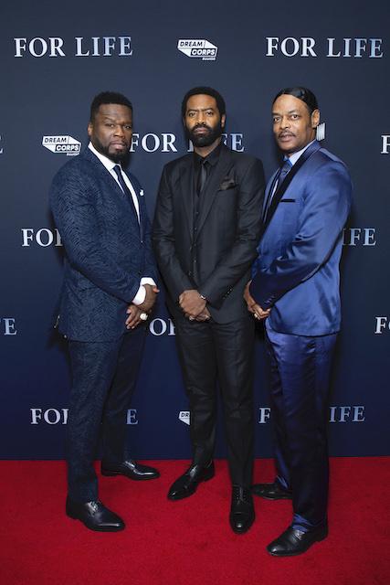 Curtis 50 Cent Jackson, Nicholas Pinnock and Isaac Wright Jr.