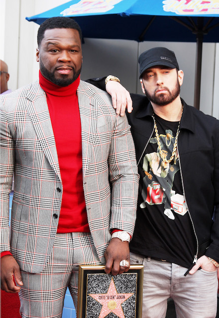 Curtis [50 Cent] Jackson, Eminem