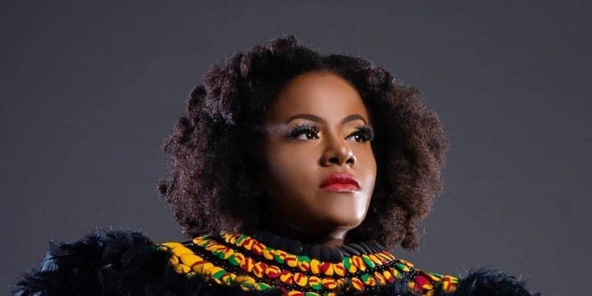 Grammy nominated singer Etana